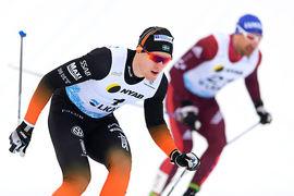 Oskar Svensson ska ta sig an Johannes Hösflot Klaebo med Sagan-taktik i Ruka. FOTO: Carl Sandin/Bildbyrån.