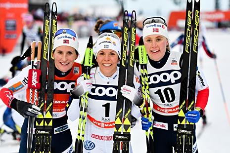 Pallen med Björgen, Kalla och Haga. FOTO: Petter Arvidson/Bildbyrån.
