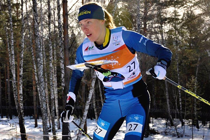 Tove Alexandersson åkte in som trea när världscupen i skidorientering startade med sprint i finska Ylläs. FOTO: Nordenmark Adventure.
