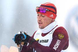 Alexander Legkov när han tävlade i Gällivare för en dryg vecka sedan. FOTO: Carl Sandin/Bildbyrån.