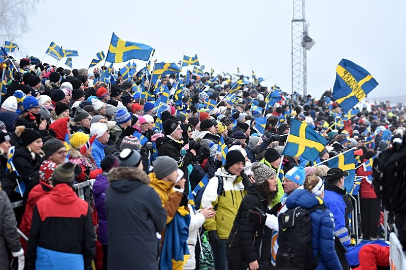 Ulricehamn är tillbaka som arrangör av världscupen till vintern. 2017 bjöd västgötarna på en riktig publiksuccé. FOTO: Rolf Zetterberg.