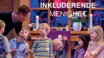 Bilde av barn i en kirke