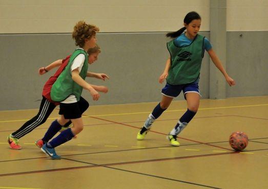 Fotball i Sørfoldhallen