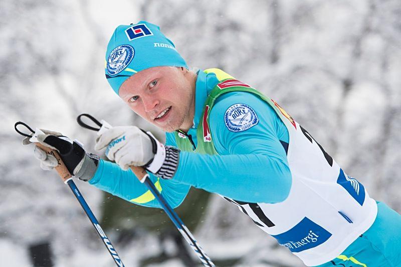 Filip Danielsson åkte dött loppet med Markus Ruus på Björnjakten i Älvdalen. FOTO: Carl Sandin/Bildbyrån.