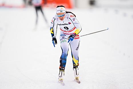 Anna Haag är fortsatt bäst av de svenska damerna. FOTO: Jon Olav Nesvold/Bildbyrån.