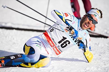 Marcus Hellner är nu upp på tionde plats i toursammandraget. FOTO: Jon Olav Nesvold/Bildbyrån.