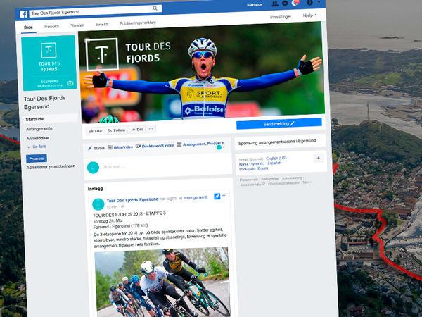 Tour Des Fjords på Facebook