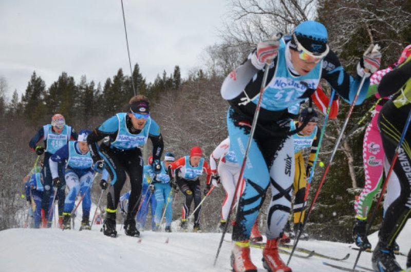 Det är ett gott snöläge för Vålådalen Classic Ski som avgörs på söndag. FOTO: Lena Gavelin.