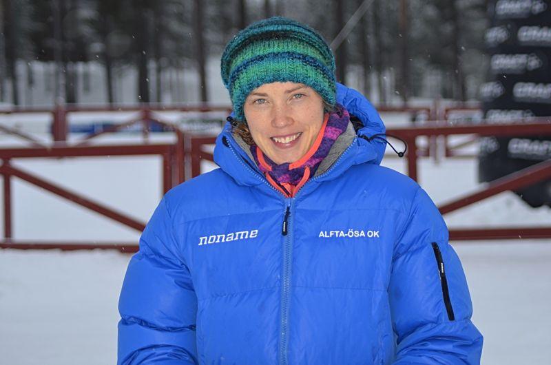 Favoriten Tove Alexandersson tog guld vid sprinten vid EM i skidorientering i Bulgarien. FOTO: Johan Trygg/Längd.se.