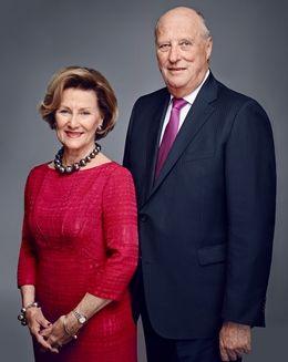 kongen og dronningen