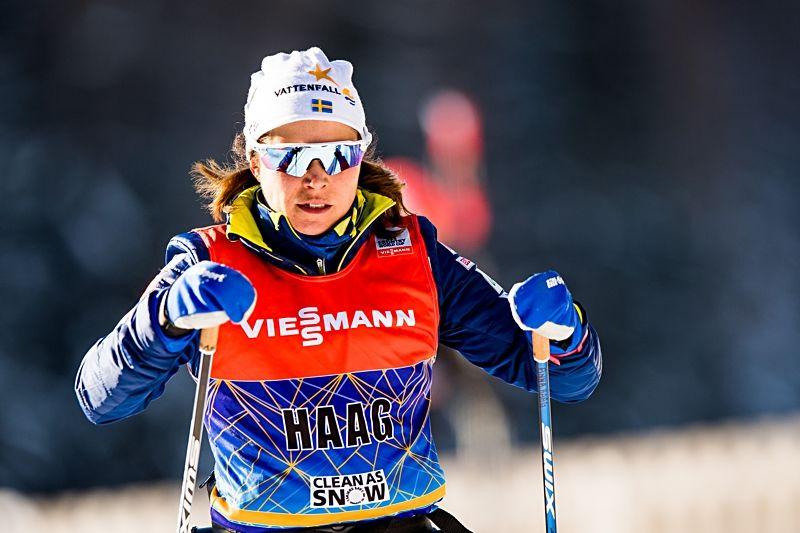 Anna Haag har tillsammans med Jens Burman och Oskar Svensson fått klartecken för OS. FOTO: Jon Olav Nesvold/Bildbyrån.