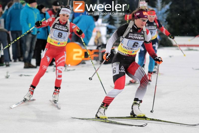 Du kan starta ditt eget skidskytte-team med 15 åkare och öka spänningen än mer när du följer skidskyttetävlingarna från Antholz-Anterselva, Italien.