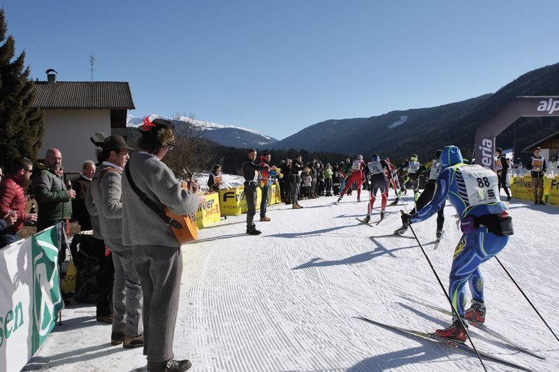 Gsieser Tal Lauf i italienska Sydtyrolen har i år perfekta förhållanden inför tävlingshelgen 17-18 februari. FOTO: Gsieser Tal Lauf.