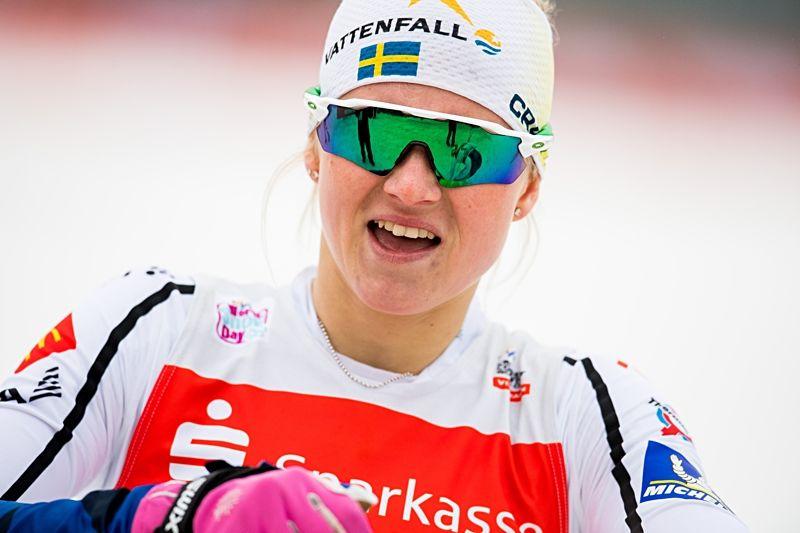 Maja Dahlqvist är tillbaka i landslagsdräkten när världscupen kommer till Seefeld och för-VM i helgen. FOTO: Vegard Wivestad Grött/Bildbyrån.