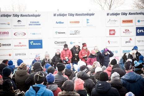 Fin stämning och mycket folk vid prisutdelningen. FOTO: Henrik Rådmark.