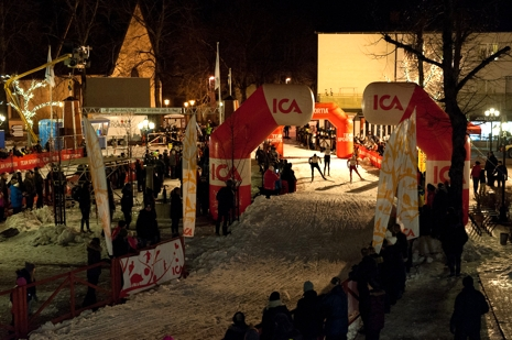 Fredagens sprint kommer bjuda på en fin folkfest i centrala Norberg. FOTO: Engelbrektsloppet.