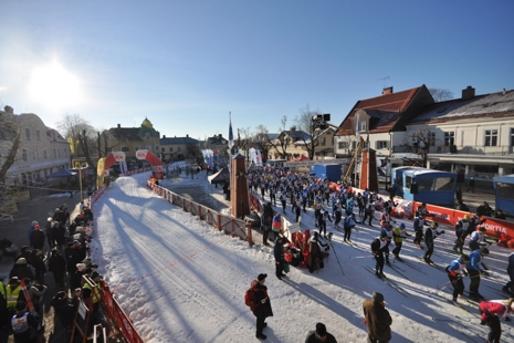 Engelbrektsloppet har start och mål i centrala Norberg. FOTO: Engelbrektsloppet.