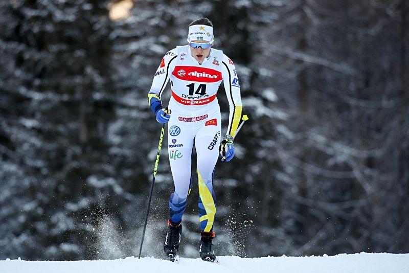 Linn Sömskar tog en fin femteplats på sprinten vid för-VM i Seefeld. FOTO: Matic Klansek/Gepa Pictures.