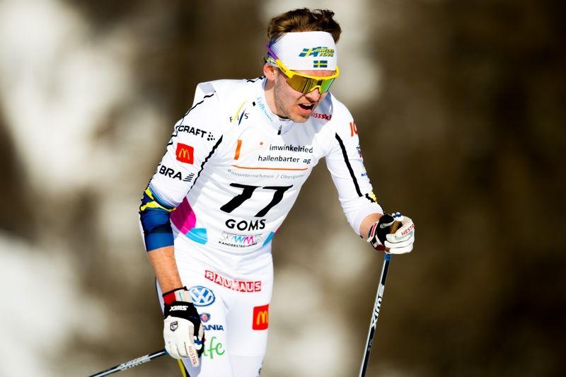 Jacob Nystedt åkte in som 14:e man på JVM:s 10 kilometer klassiskt på tisdagen. FOTO: Vegard Wivestad Grött/Bildbyrån.