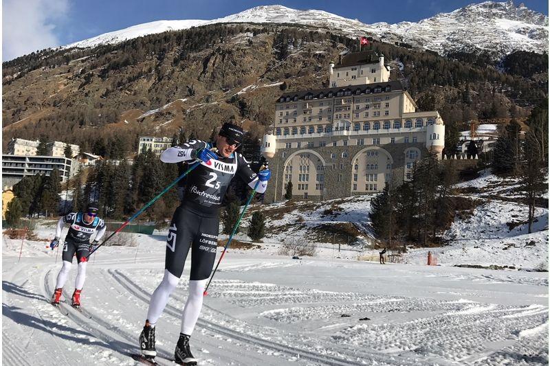 Jimmie Johnsson,  Lager157 Ski Team och Rembo IK, kommer till start på Engelbrektsloppet på söndag. FOTO: C-G Berglund.