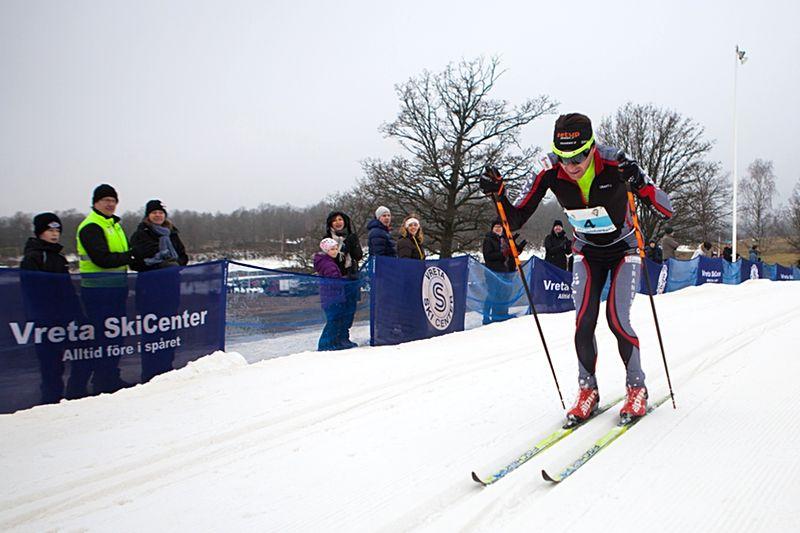 Markus Jönsson kommer tillbaka till Vreta Ski Maraton för att försvara sin seger från i fjol. FOTO: Mikael Johansson.