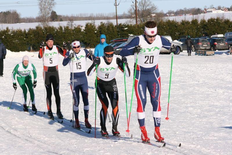 Sya Skidklubb räknar med 500 åkare till start på seedningsloppet XL-Bygg Slingan på söndag. FOTO: Sya Skidklubb.
