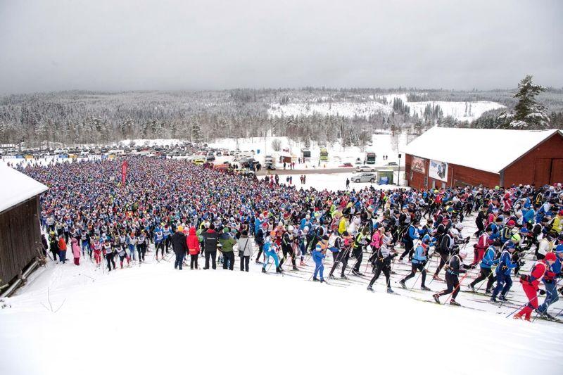 Dagens Industri blir ny mediapartner till Vasaloppet fram till Vasaloppets 100-årsjubileum 2022. FOTO: Vasaloppet.
