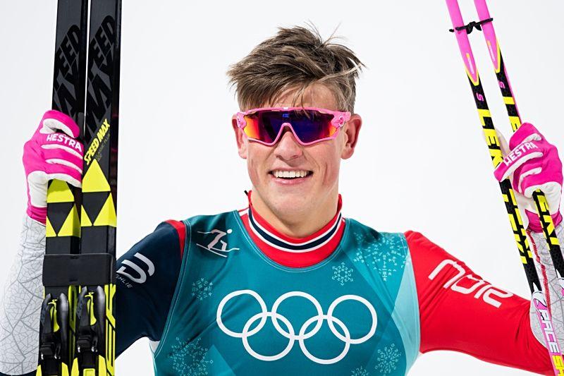 Sprintkungen Johannes Hösflot Kläbo gjorde ingen besviken i OS-sprinten. FOTO: Petter Arvidson/Bildbyrån.