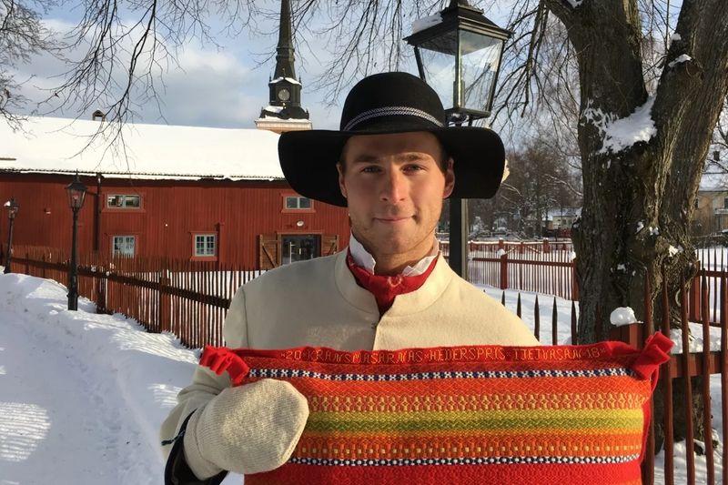 Vasaloppets kransmas Joakim Kullberg kommer att dela ut kransmasarnas eget hederspris till segraren i Tjejvasan. FOTO: Vasaloppet.