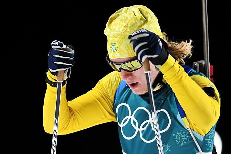 Sebastian Samuelsson åkte in som fin fyra på OS distanslopp. FOTO: Carl Sandin/Bildbyrån.