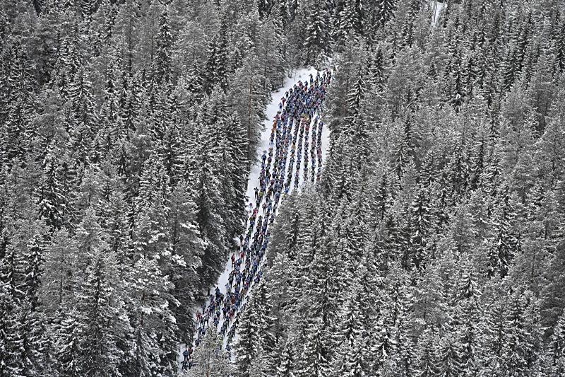 Det blir ett nytt nationsrekord under Vasaloppets vintervecka 2018. Hittills finns 73 nationer i startlistorna. FOTO: Vasaloppet.