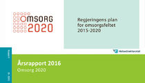 Ingressbilde til Årsrapport 2016 for Omsorgsplan 2020