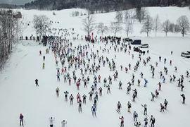 I tionde avsnittet av Worldloppet TV Magazine hälsar vi bland annat på i Tyskland och König Ludwig Lauf. Här en bild från starten.