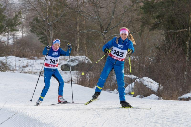 DM i Stockholm genomfördes i fina förhållanden på Täby Konstsnöspår i helgen. FOTO: Bengt Lord.