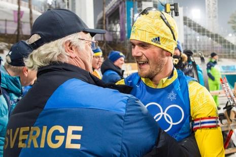 Två kungar på samma bild. FOTO: Carl Sandin/Bildbyrån.