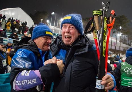 Wolfgang Pichler - vilken guldmakare. FOTO: Carl Sandin/Bildbyrån.