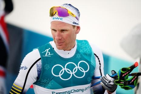 Daniel Rickardsson avslutade starkt och blev sjua på OS-femmilen. FOTO: Petter Arvidsson/Bildbyrån.
