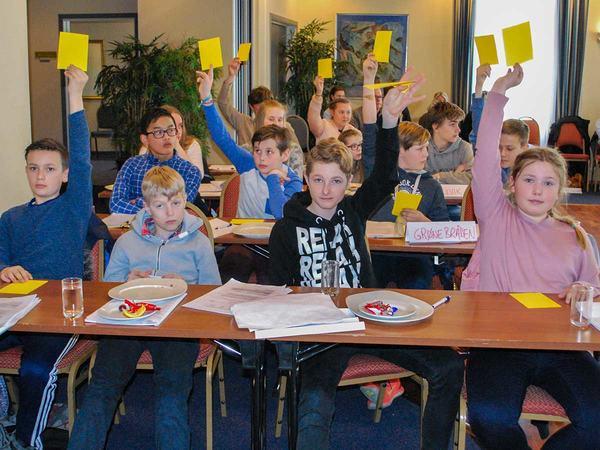 Barn- og unges kommunestyre 2017