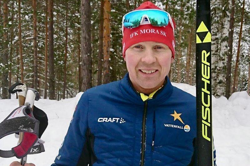 Vasaloppsvinnaren från 2001, Henrik Eriksson, blir lok i CCC1000-tåget under Vasaloppet på söndag. FOTO: CCC1000.