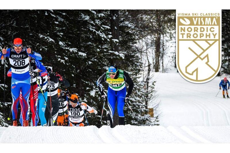 Vasaloppet på söndag är första deltävlingen i Visma Nordic Trophy.