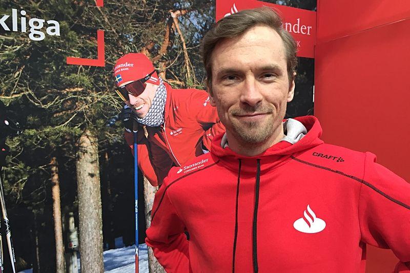 Johan Olsson är på plats i Mora för Vasaloppet på söndag. Dock väljer Olsson att kliva ett steg bakåt i starten. Från 0-ledet till led 1. FOTO: Johan Trygg/Längd.se.