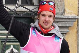 Oskar Kardin är ett stort svenskhopp på Vasaloppet i morgon. FOTO: Magnus Östh.