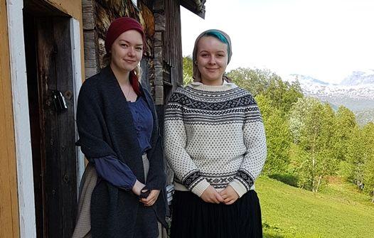 Hanna og Camilla