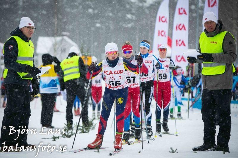 ICA cup-finalen i Bollnäs startade idag med distanstävlingar. FOTO: Björn Lans/balansfoto.se