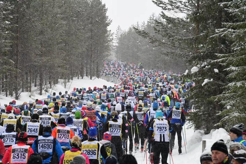 Vasaloppet 2019 fulltecknades på söndagsmorgonen. FOTO: Vasaloppet.