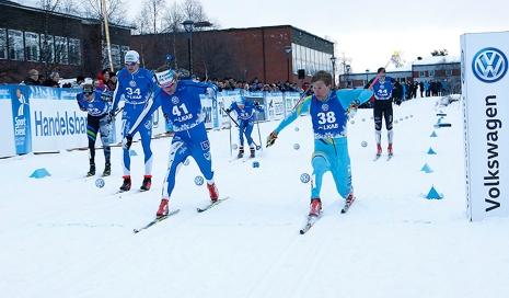 Pontus Hermansson hade bästa målgången och vann före Marcus Grate. FOTO: Yngve Johansson, Imega Promotion.