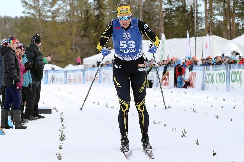Maria Nordström vann fem mil långa NSD Classic knappa minuten före Ebba Andersson. FOTO: Mickael Renström, Imega Promotion.