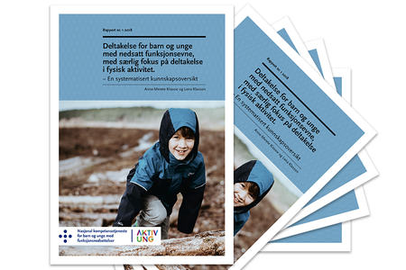 Ingressbilde til rapporten Deltakelse for barn og unge med nedsatt funksjonsevne