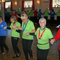 Seniordans på Midsund