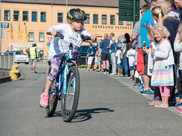 Sykkelritt for barn
